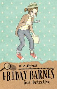 Friday Barnes Girl Detective reviewed by a kid book blogger