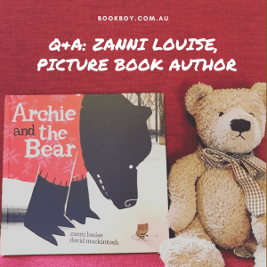 Picture book author Zanni Louise interviewed by a kid book blogger