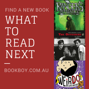 Find a new book: what to read next | bookboy.com.au - a 13yo book blogger - has some suggested reads for you