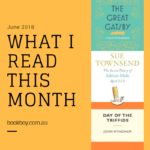 My blog turns two! What I read this month