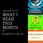 What I read this month: January 2019