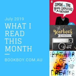 What I read (July 2019)| bookboy.com.au