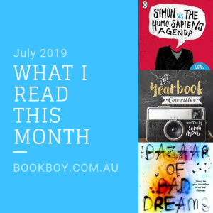 What I read (July 2019)| bookboy.com.au