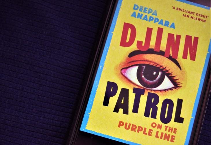 Djinn Patrol on the Purple Line ebook cover.