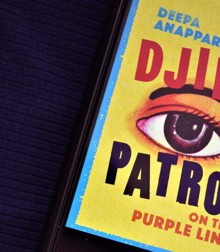 Djinn Patrol on the Purple Line ebook cover