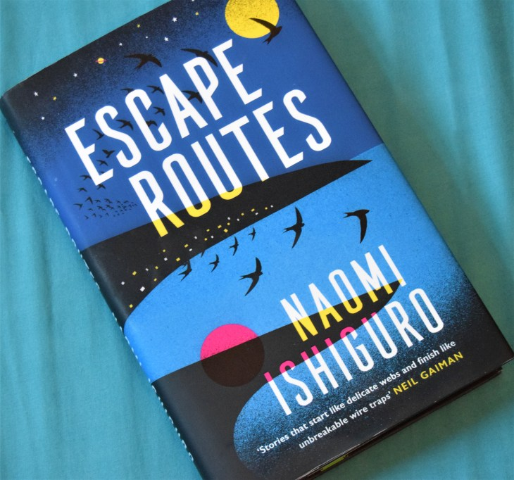 Escape Routes hardback book cover