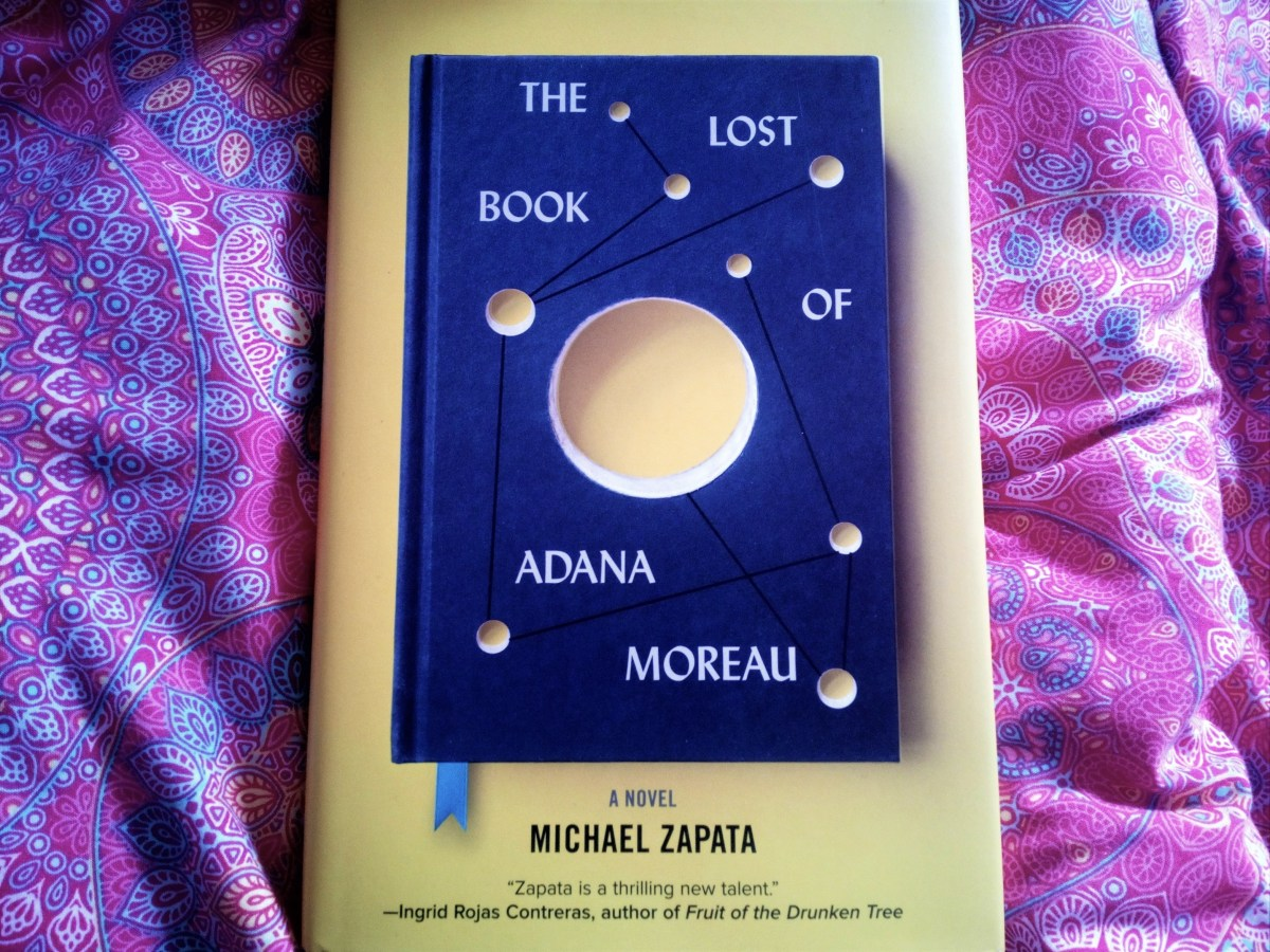 The Lost Book of Adana Moreau hardback cover
