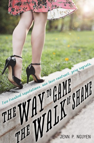 {ARC Review+Giveaway} The Way to Game the Walk of Shame by @JennP_Nguyen @SwoonReads