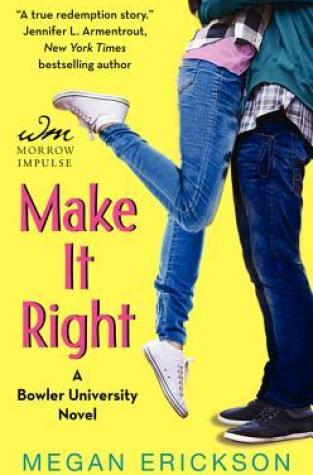 {Review+Giveaway} Make it Right by @MeganErickson_ @WmMorrowBks