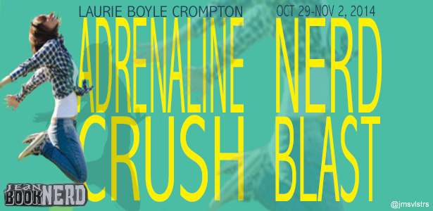 { #Giveaway } Adrenaline Crush by Laurie Boyle Compton @lbcrompton @fsgbooks
