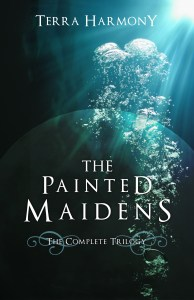 {Interview+Giveaway} Painted Maidens Trilogy by Terra Harmony @harmonygirlit