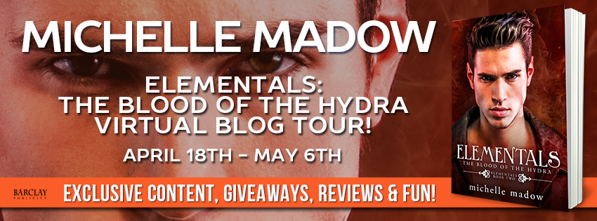 {Review+Giveaway} The Blood of the Hydra by @MichelleMadow @Barclay_PR