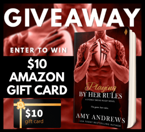 Playing by Her Rules Giveaway Graphic