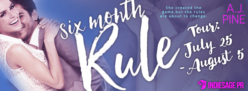 {Review+Giveaway} Six Month Rule by @AJ_Pine @EntangledSelect