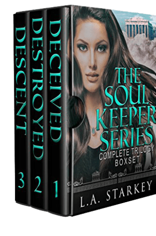 {Top 10 List+Giveaway} Soul Keeper Series by L.A. Starkey