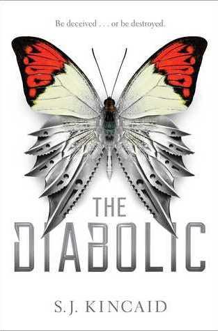{Review+Giveaway} The Diabolic by S.J. Kincaid @SJKincaidBooks @simonteen @RivetedLit