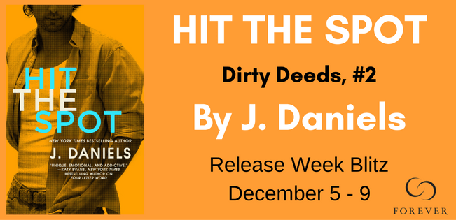 {Review+Giveaway} Hit the Spot by J. Daniels @JDanielsbooks @ForeverRomance