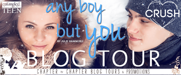 {Review+Giveaway} Any Boy But You by @JulieHammerle @EntangledTeen