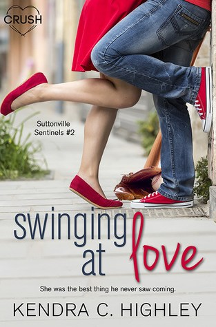 {Review+Giveaway} Swinging At Love by @KendraHighley @entangledteen