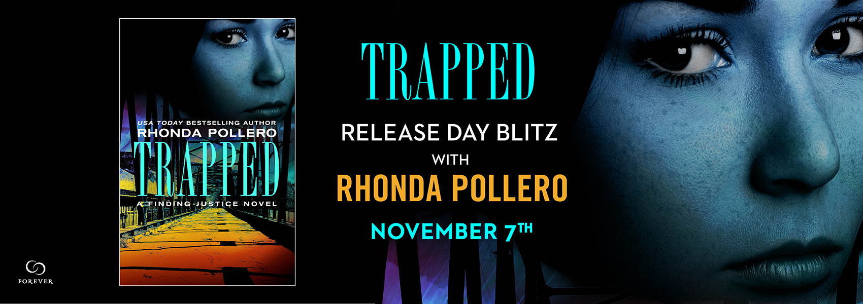 {Release Day Review++Excerpt+Giveaway} Trapped by Rhonda Pollero