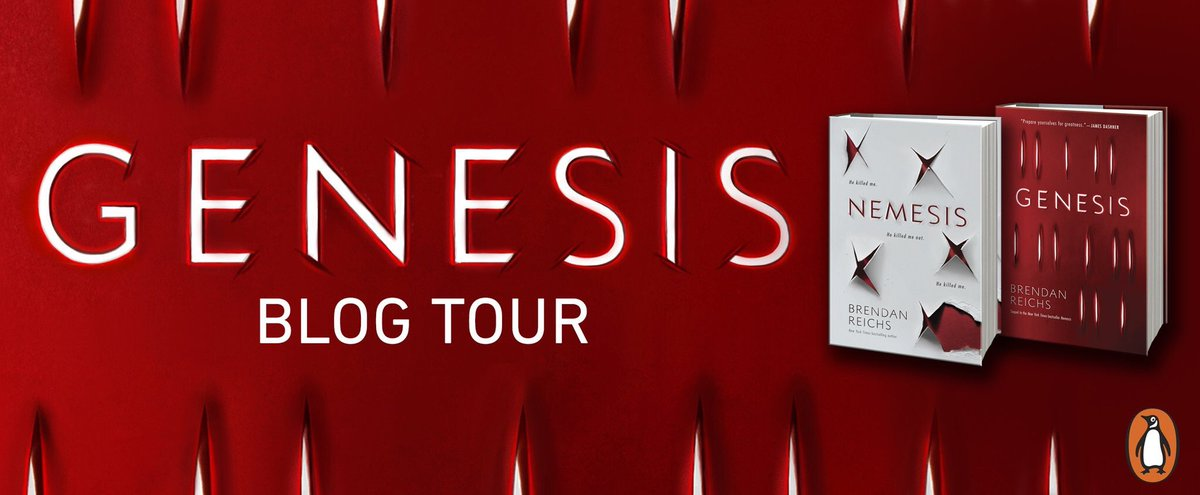 {Review} Nemesis by @BrendanReichs #ProjectNemesis #GenesisBlogTour @PenguinTeen