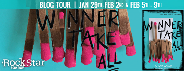 {Review+Giveaway} Winner Take All by @Laurie_Devore @ImprintReads @FierceReads