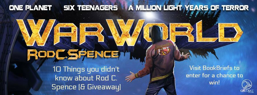 {Guest Post+Giveaway} War World by Rod C. Spence