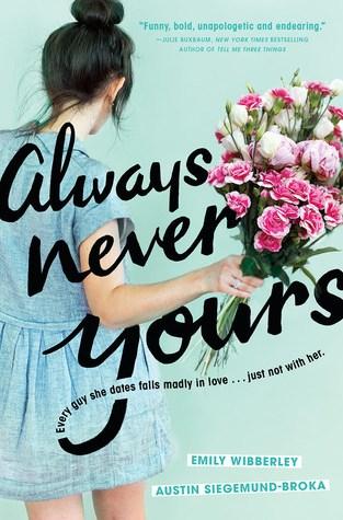{Review} Always Never Yours by Austin Siegemund-Broka and Emily Wibberley