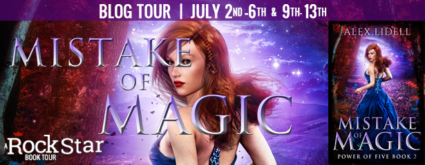 {Review+Giveaway} Mistake of Magic by @AlexLidell