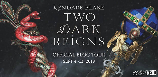 {Review+Giveaway} TWO DARK REIGNS by @KendareBlake