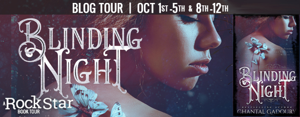 {Review+Giveaway} Blinding Night by Chantal Gadoury @cgadoury16 @parliamentbooks