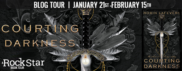 {Review+Giveaway} Courting Darkness by Robin LaFevers