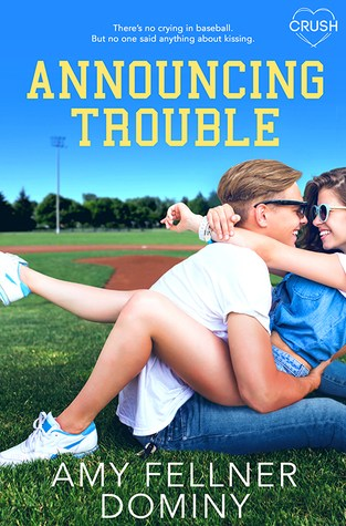 {Review+Giveaway} Announcing Trouble by @AmyDominy @EntangledTeen