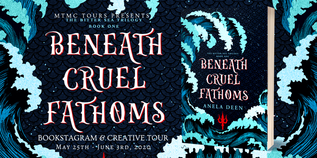 {Review+Giveaway} Beneath Cruel Fathoms by @AnelaDeen