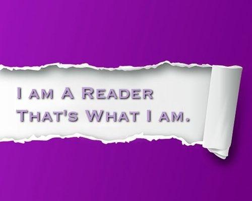 Sunt un cititor