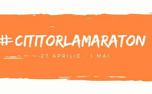 #cititorlamaraton by Jurnal de lectură