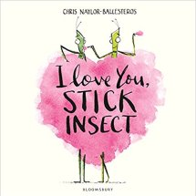 i love you stick insect