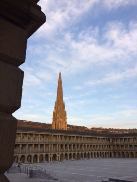 Piece hall view