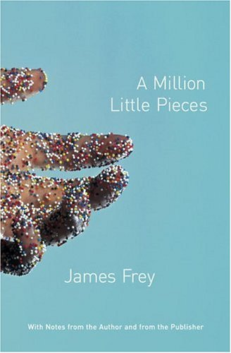 Image result for a million little pieces book cover