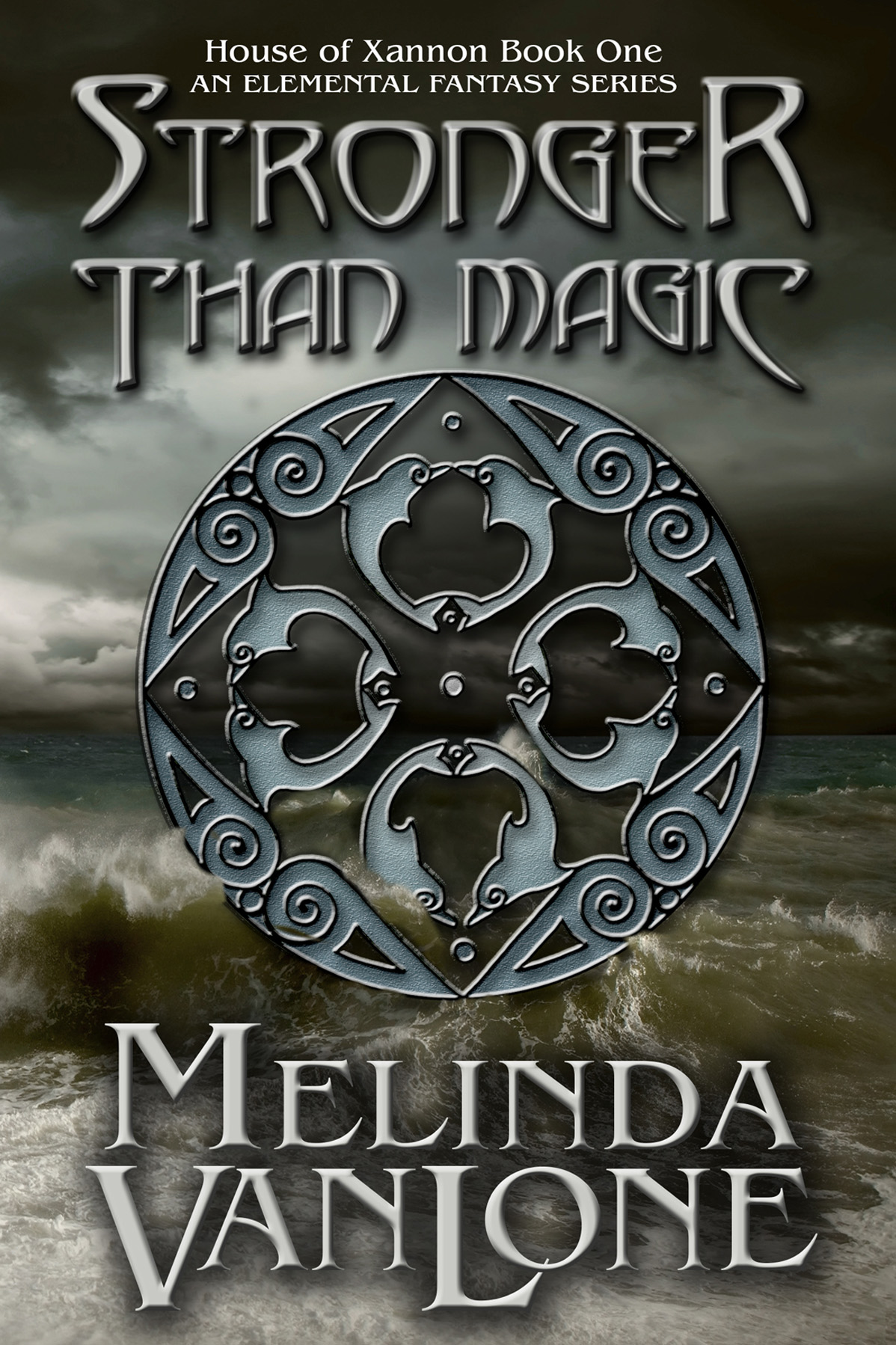 Stronger Than Magic by Melinda Van Lone, cover by Book Cover Corner
