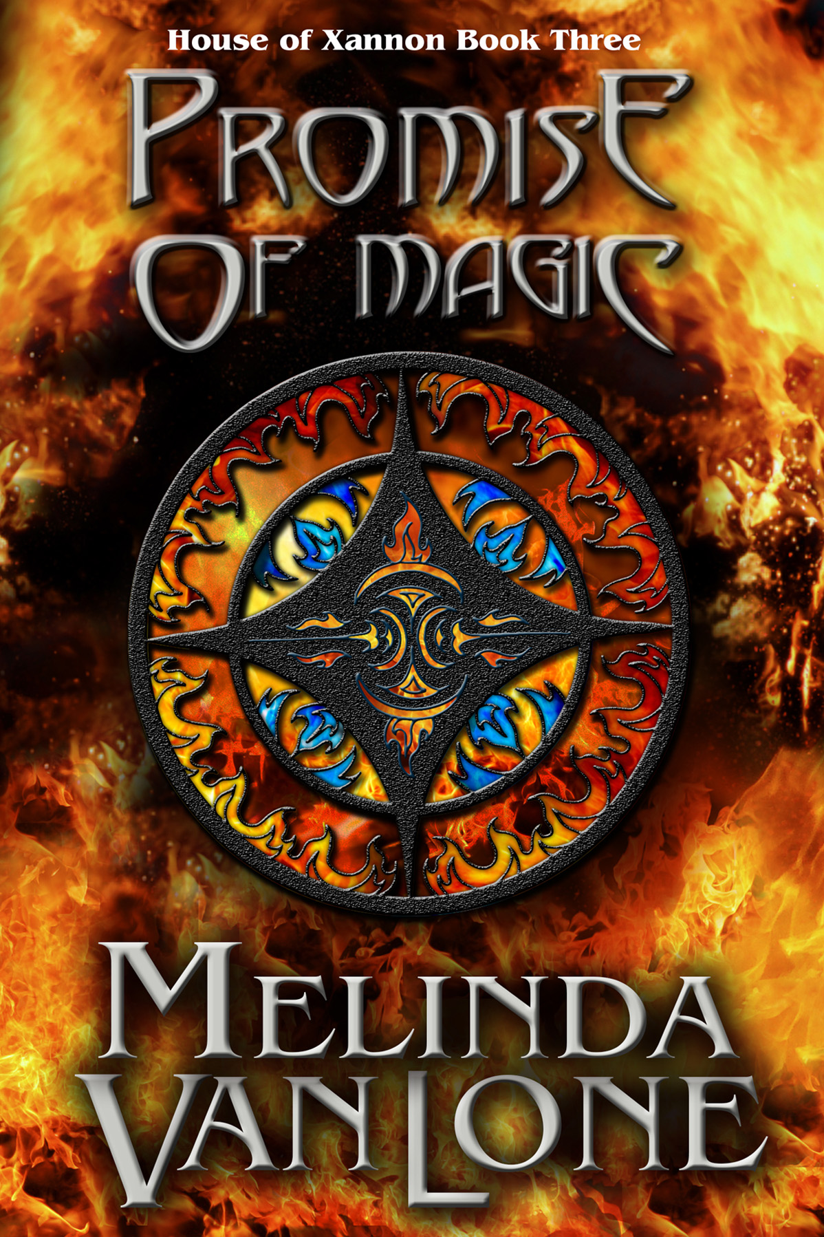 Promise of Magic by Melinda Van Lone, cover by Book Cover Corner