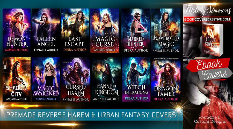 Urban Fantasy Book Cover : Premade urban fantasy and reverse harem book covers