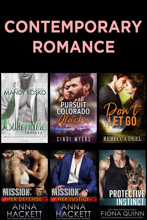 Contemporary Romance Covers
