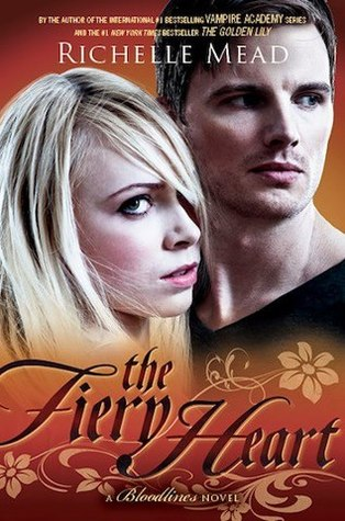 Cover Reveal: The Fiery Heart – Bloodlines #4 by Richelle Mead
