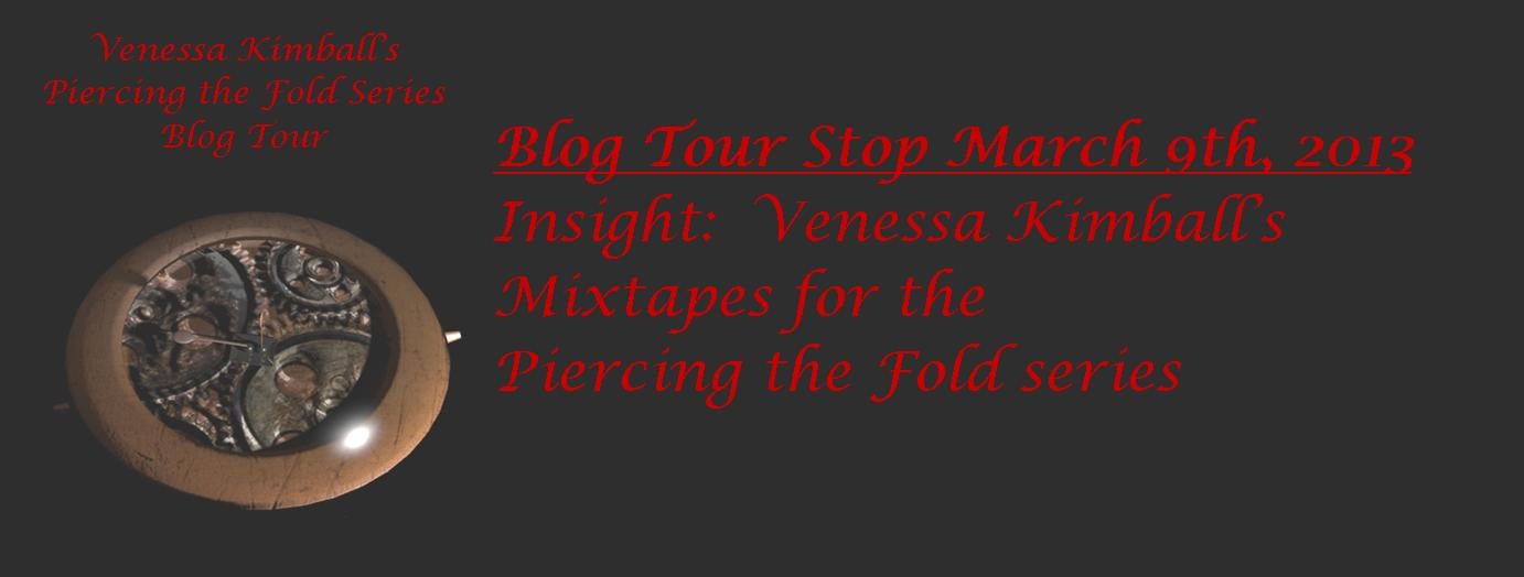 Blog Tour: Piercing the Fold Series Mixtape