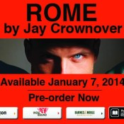 Cover Reveal Part 1: Rome (Marked Men #3) by Jay Crownover