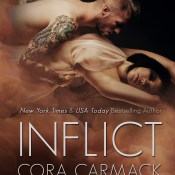 Cover Reveal: Inspire & Inflict – Muse Series by Cora Carmack