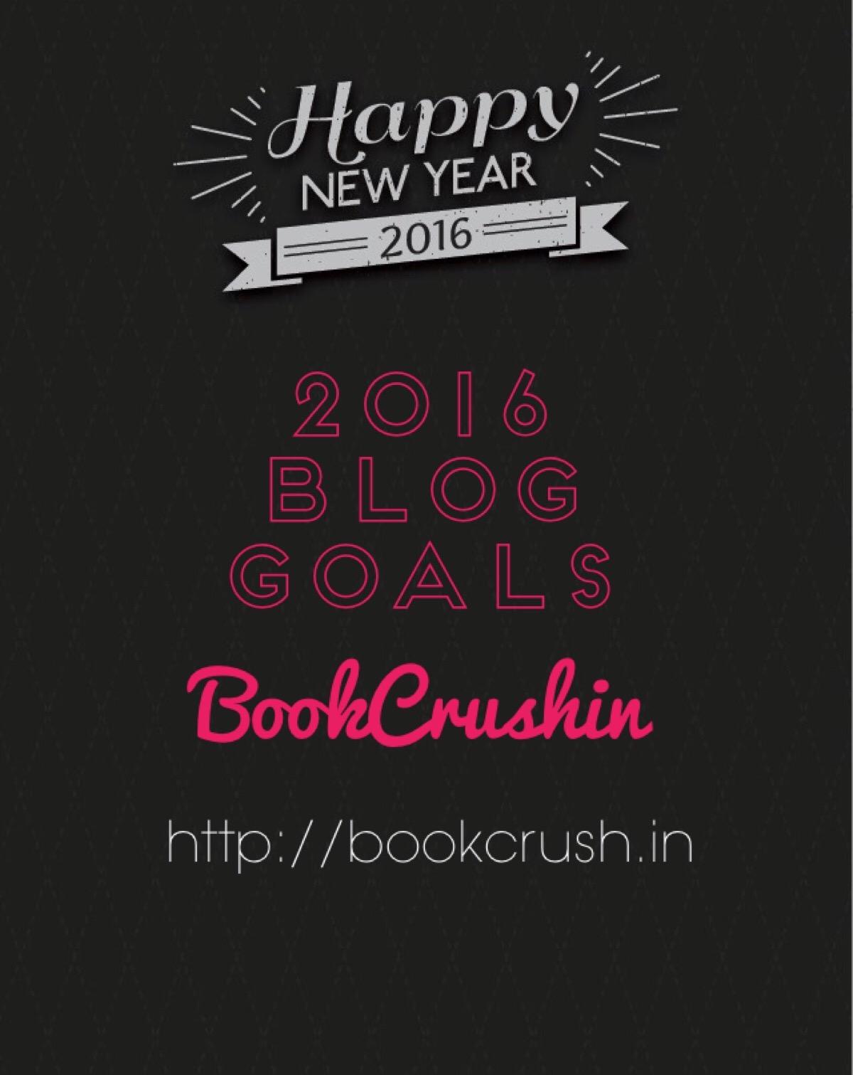 2016 Blog Goals & Giveaway!