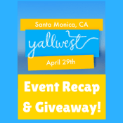 YallWest 2017 Event Recap, Tips for Book Festivals & Giveaway