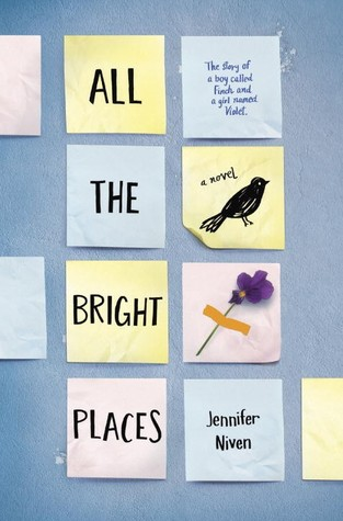 Book Rewind · Review: All the Bright Places by Jennifer Niven